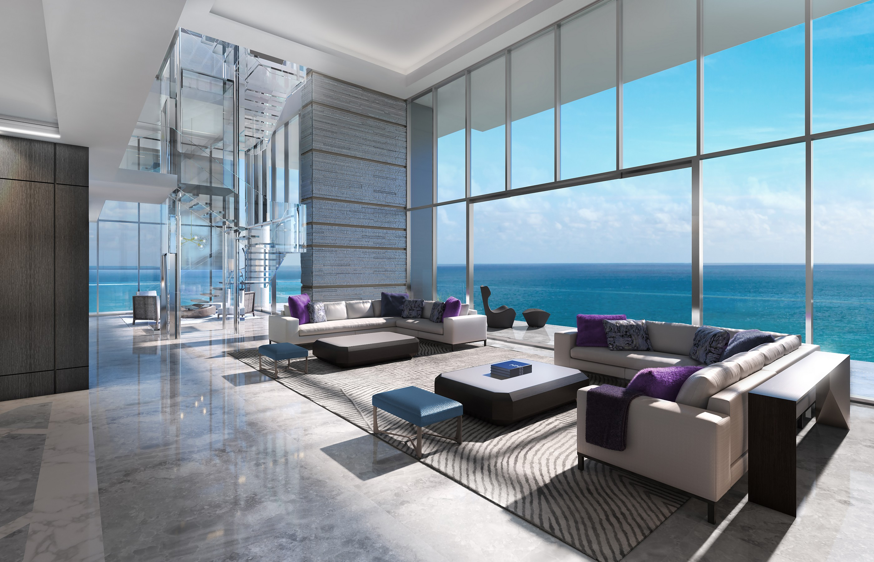 Appartamento in vendita in 6901 Collins Av PH, Miami Beach, Florida ,33141