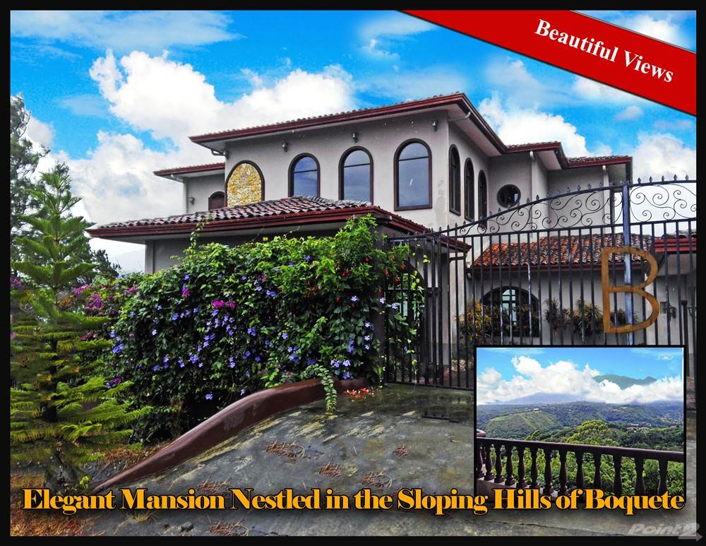 Residenziale in Mansion Nestled in the Sloping Hills of Boquete, Chiriqui, Boquete, Chiriquí   , Panama