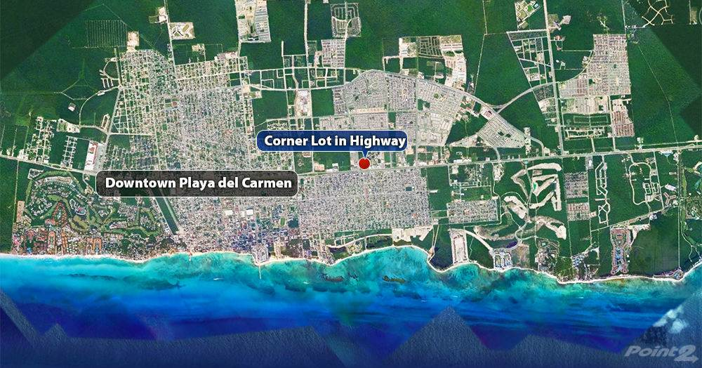 Residenziale in Corner Lot in Av. Colosio and Highway, Playa del Carmen, Quintana Roo ,77710  , Messico