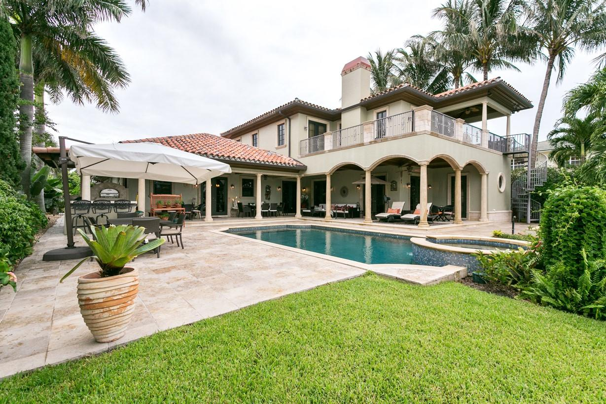 Residenza monofamiliare in vendita in 14 Harbor Drive, Lake Worth Beach, Florida ,33460