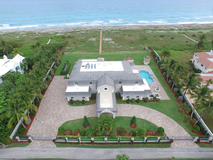 Residenza monofamiliare in vendita in 477 S Beach Road, Hobe Sound, Florida ,33455