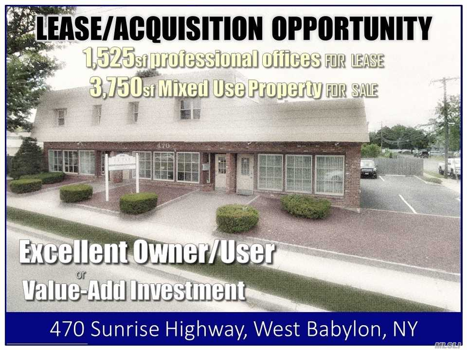 Acquisto commerciale in 470 Sunrise Hwy, W. Babylon, NY ,11704