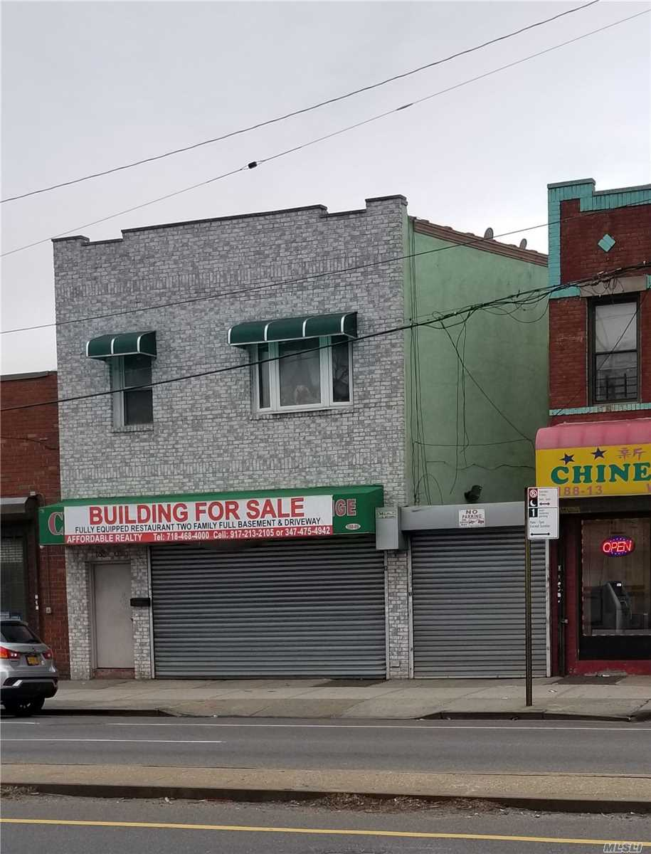 Acquisto commerciale in 188-09 Jamaica Ave, Hollis, NY ,11423