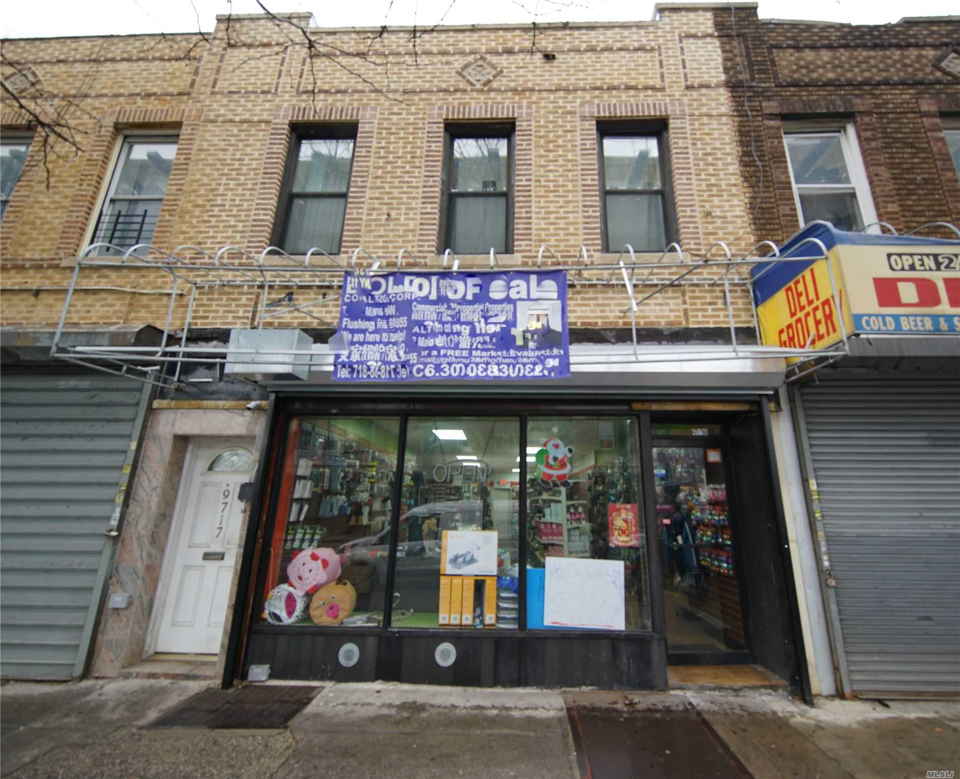 Acquisto commerciale in 97-17 Jamaica Ave, Woodhaven, NY ,11421