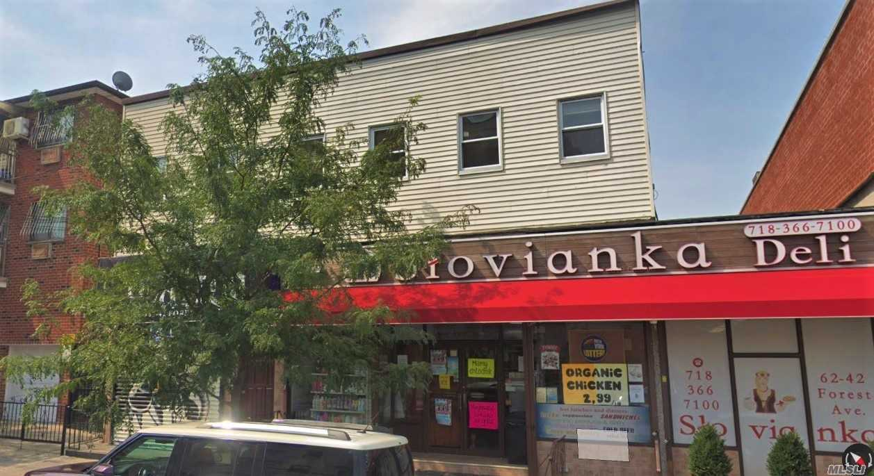 Acquisto commerciale in 62-42 Forest Ave, Ridgewood, NY ,11385